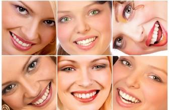 Определение типа кожи лица.